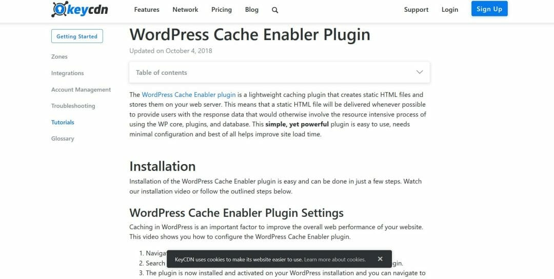 Wordpress-Cache-Enabler
